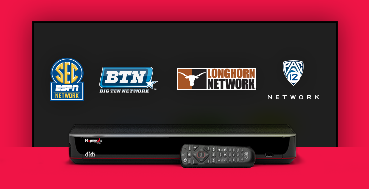 DISH College Sports TV Packages - Round Rock, Texas - Cellnet Satellite & Internet - DISH Authorized Retailer