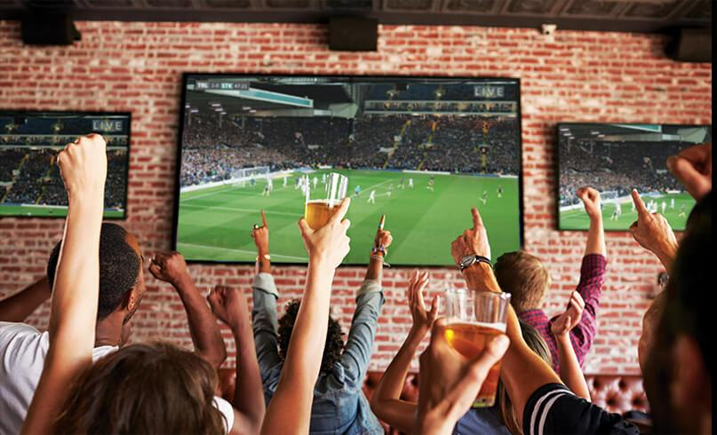 Sports TV for Business from Cellnet Wireless & Satellite